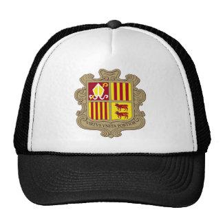 Andorra Coat of Arms Hat