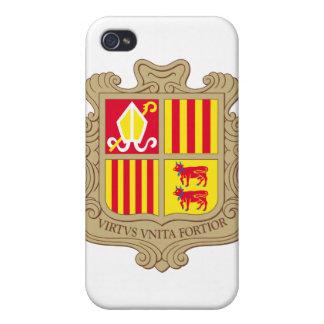 Andorra Coat Of Arms iPhone 4 Case