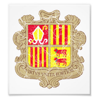 Andorra Coat Of Arms Photo Print