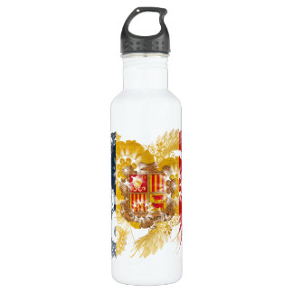 Andorra Flag 710 Ml Water Bottle