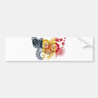 Andorra Flag Bumper Sticker