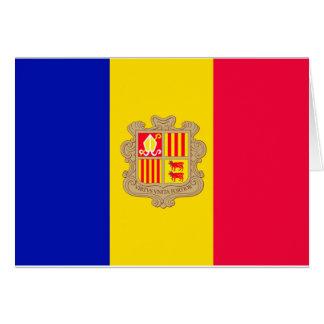 Andorra Flag Card
