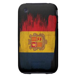 Andorra Flag Tough iPhone 3 Cases