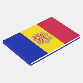 Andorra Flag Guest Book