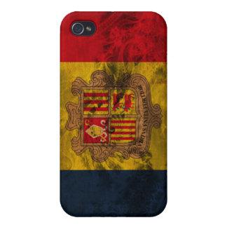 Andorra Flag iPhone 4/4S Cases