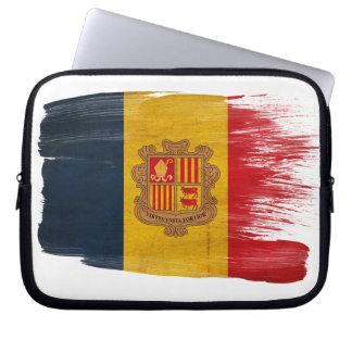 Andorra Flag Laptop Computer Sleeves