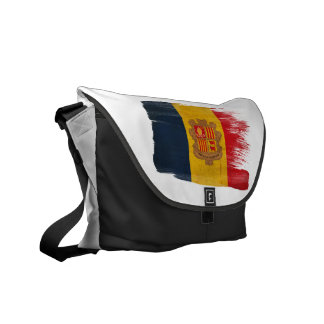 Andorra Flag Messenger Bags