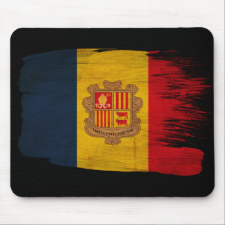 Andorra Flag Mouse Pads