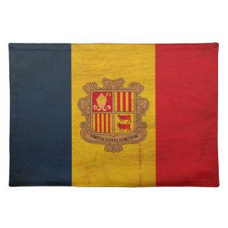 Andorra Flag Place Mat