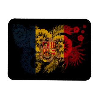 Andorra Flag Rectangular Magnet
