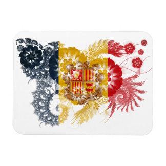 Andorra Flag Rectangular Magnets