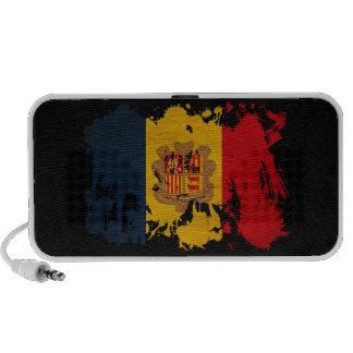 Andorra Flag Travel Speakers