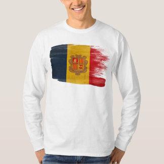 Andorra Flag T Shirts