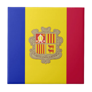 Andorra Flag Tile