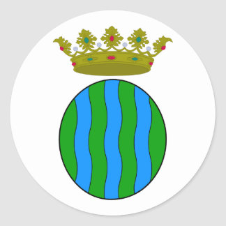 Andorra la Vella, Andorra Classic Round Sticker