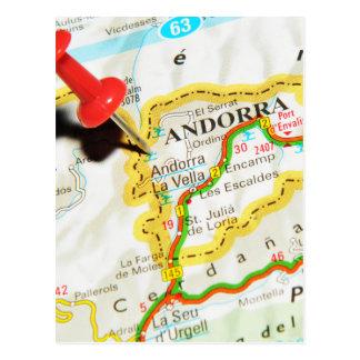 Andorra la Vella, Andorra Postcard
