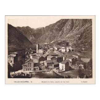 Andorra la vella postcard
