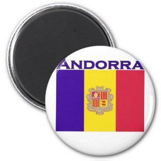 Andorra Refrigerator Magnet