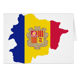 Andorra map AD Card