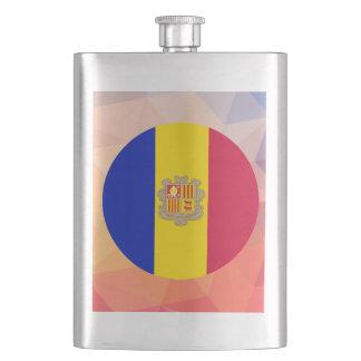 Andorra Souvenir Flask