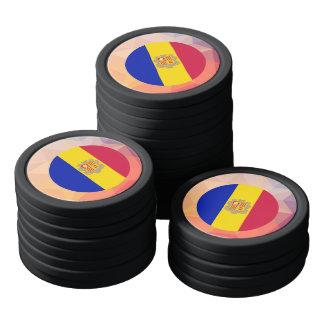Andorra Souvenir Poker Chips Set