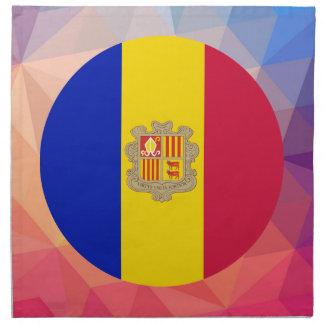 Andorra Souvenir Printed Napkins