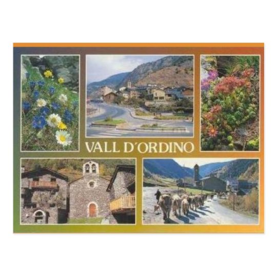 Andorra, Vall d'Ordino Postcard