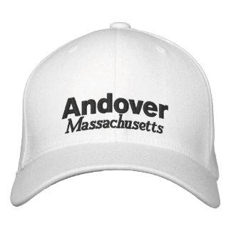 Andover, Massachusetts Hat Embroidered Baseball Cap