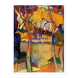 Andre Derain Three Trees Fine Art Postcard