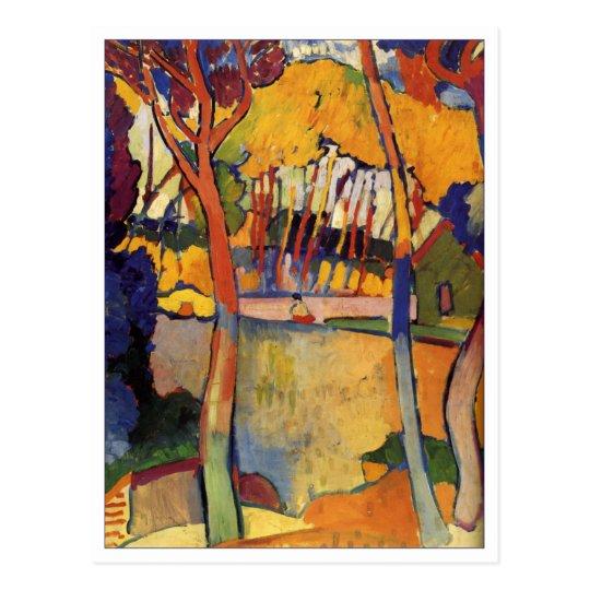 Andre Derain Three Trees Fine Art Postcard