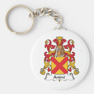 Andre Family Crest Key Ring