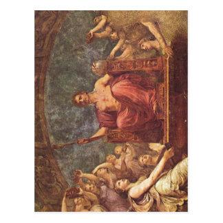 Andrea Appiani Apotheose Napoleons Italiano: Apote Postcard