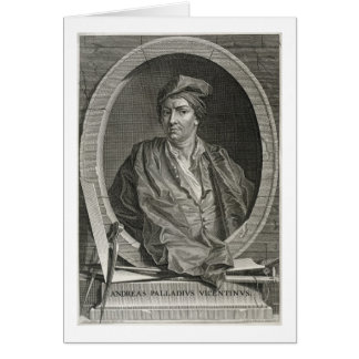 Andrea Palladio (1508-80) engraved by Bernard Pica Card