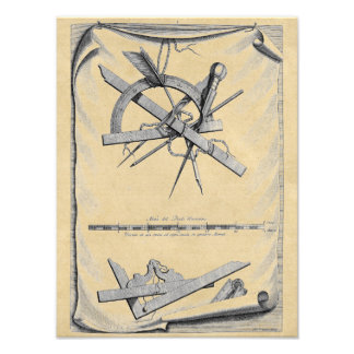 Andrea Palladio Drafting Tools Photo Art
