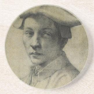 Andrea Quaratesi Portrait by Michelangelo Coasters