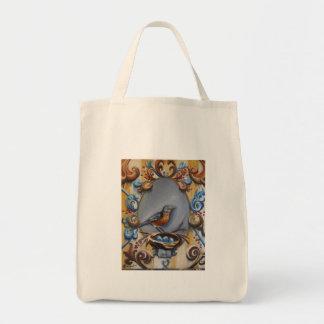 Andrea's Robin Tote Bags