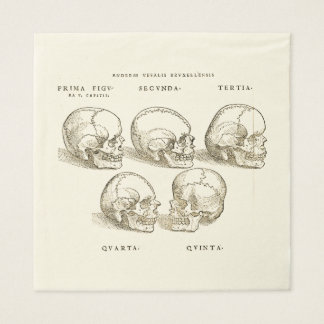 Andreas Vesalius Paper Napkins (x50)