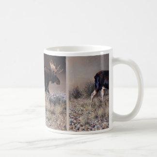 Andrew Denman Moose Mug