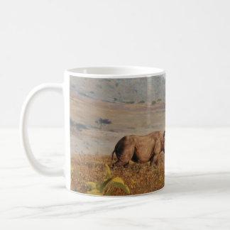 Andrew Denman Rhino Mug