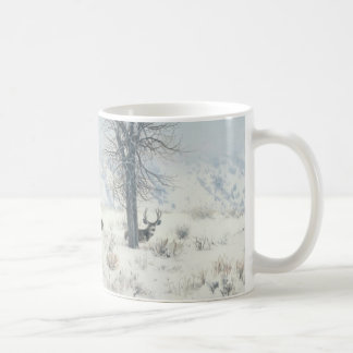 Andrew Denman Winter Landscape with Deer Mug