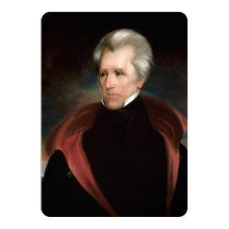 Andrew Jackson 13 Cm X 18 Cm Invitation Card