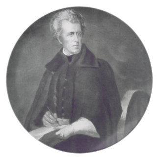Andrew Jackson, 7th President of the United States Dinner Plate