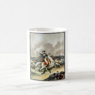 Andrew Jackson At The Battle Of New Orleans Basic White Mug