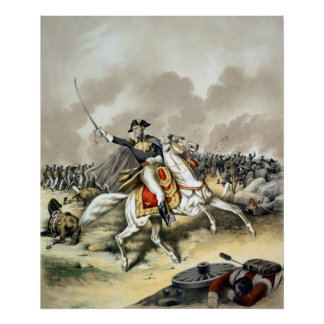 Andrew Jackson At The Battle Of New Orleans Poster