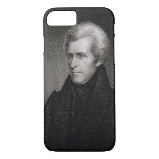 Andrew Jackson (engraving) iPhone 8/7 Case