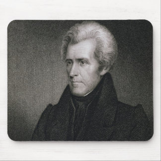 Andrew Jackson (engraving) Mouse Mat