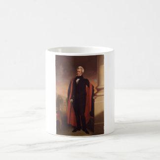 Andrew Jackson Standing Painting Basic White Mug