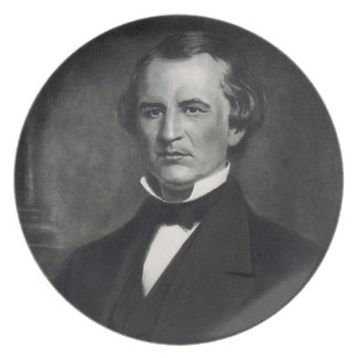 Andrew Johnson (1808-75), 17th President of the Un Party Plates