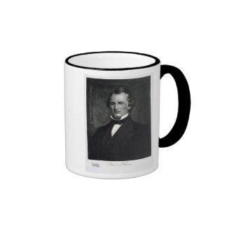 Andrew Johnson (1808-75), 17th President of the Un Ringer Mug