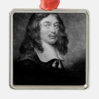 Andrew Marvell , engraved by John Raphael Smith Silver-Colored Square Decoration